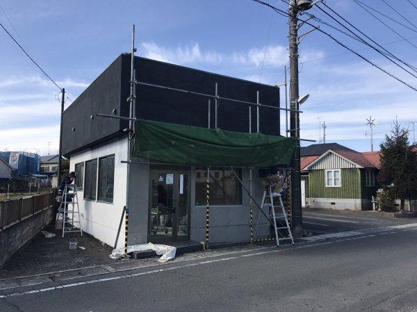 東京都あきる野市 理容室様開業支援サービスの工事進捗!