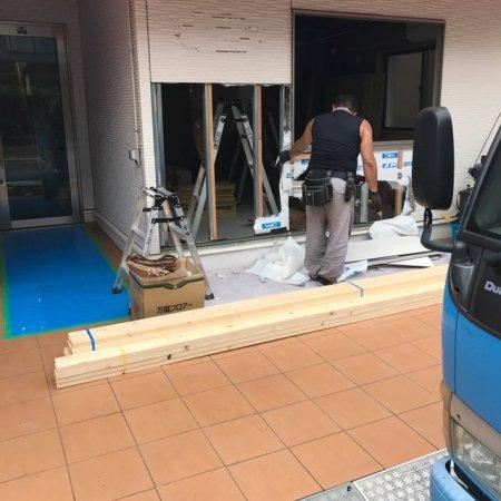 埼玉県和光市の美容室様開業支援サービス工事開始!
