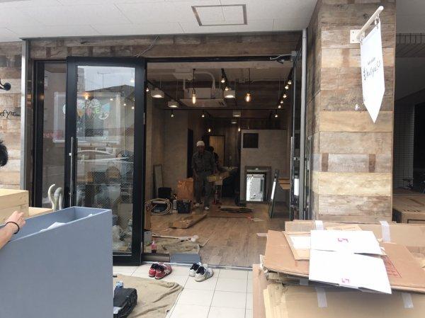 埼玉県所沢市の美容室様開業支援サービス納品取付!