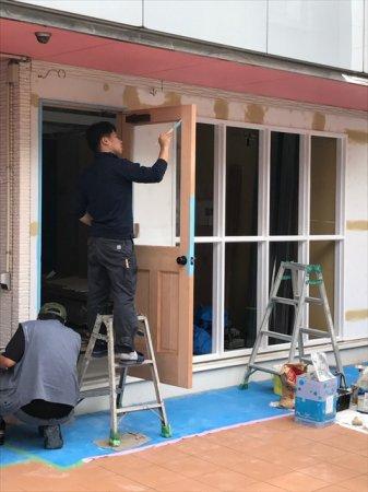 埼玉県和光市の美容室様開業支援サービス工事進捗!