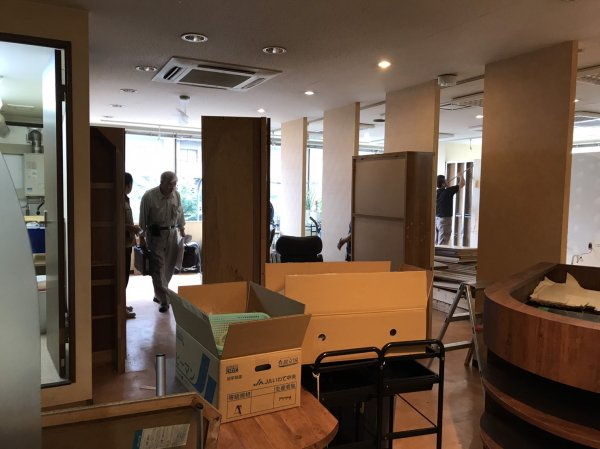 宮城県仙台市の美容室様改装支援サービス工事開始!