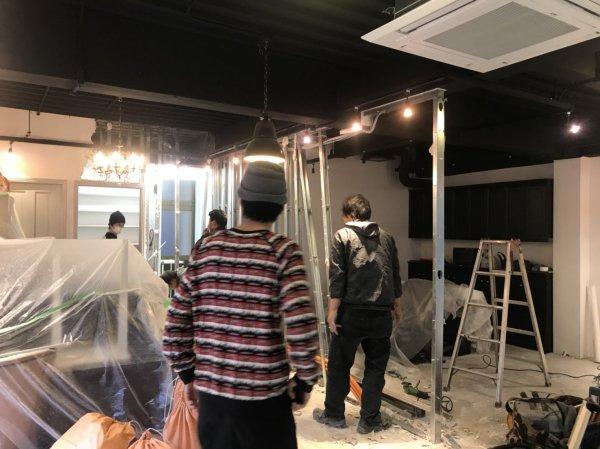 東京都立川市 開業支援内装工事開始しました!
