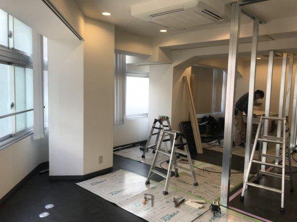東京都豊島区 開業支援内装工事開始しました!