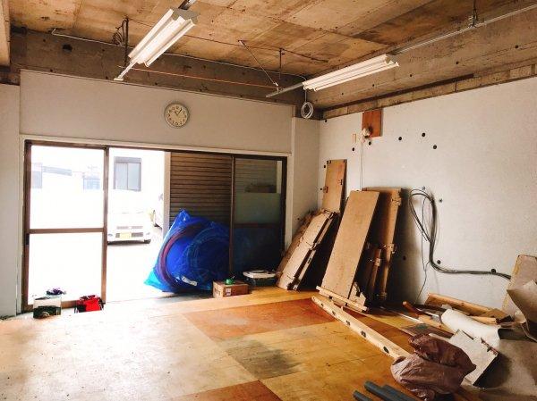 千葉県松戸市 開業支援内装工事開始!
