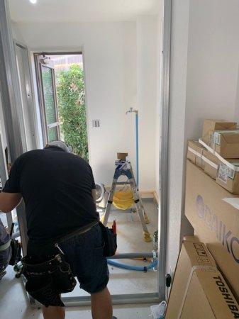 さいたま市浦和区美容室内装工事着工しました!!
