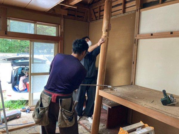 【自宅サロン開業へ】埼玉県三郷市美容室改装工事スタート!