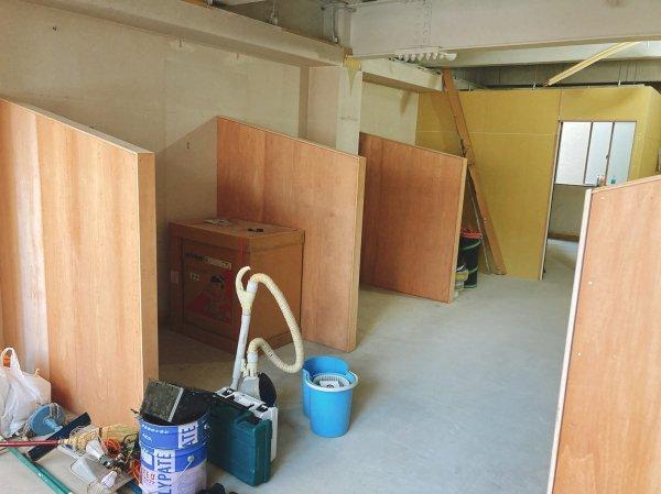 【半個室サロン】越谷市美容室新装工事の様子をお届け!