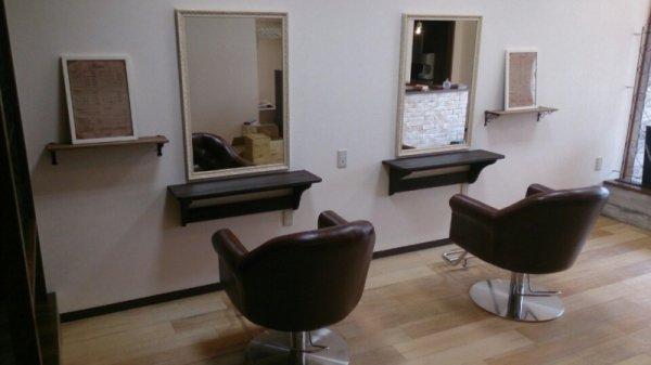 登米市美容室完成!