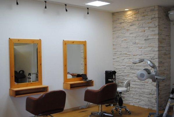クラフト調の美容室への店舗改装もお任せ下さい!