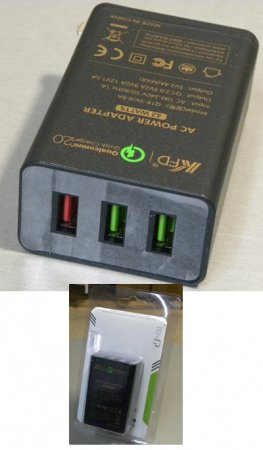 qualcomm quick charger 2.0+USB*2■nw530