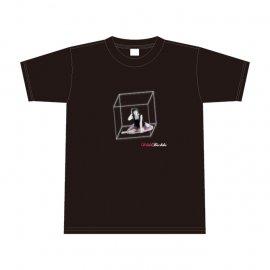 ちかちかTシャツ(囚われの姫君風ブラック) 「Mサイズ」※イベント抽選応募ハガキ付き