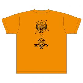 【L】A&Gオールスター2018 エジソン Tシャツ(コーラルオレンジ)