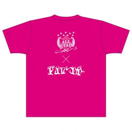 【XL】A&Gオールスター2018 ドルつか Tシャツ(ホットピンク)