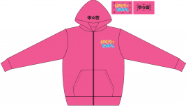 なかよしパーカー Sサイズ(ピンク)