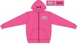 なかよしパーカー Mサイズ(ピンク)