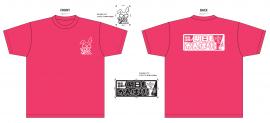 谷山紀章の明日もがんばります『ビッグTシャツ』(ピンク)