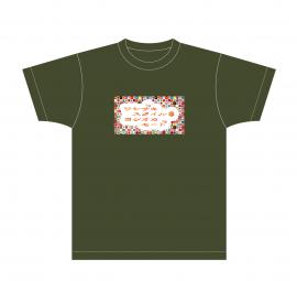 【ワシザキスタイル*ヨシオカモード】Tシャツ(オリーブM)