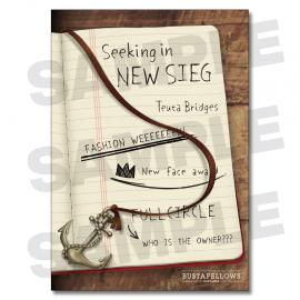 BUSTAFELLOWS「シナリオブック『Seeking in NEW SIEG(シーキング・イン・ニューシーグ)』」