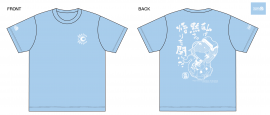 【Lサイズ】 「Fate/Grand Order カルデア・ラジオ局 Plus 」名言Tシャツ2020(マシュver)