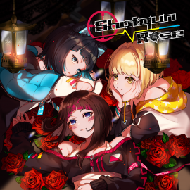 Shotgun Rose EP『Shotgun Rose』(ショットガンローズ)