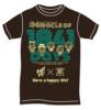 Lady Go!!卒業イベント オリジナルTシャツ by ART JUNKIE こげ茶 「Mサイズ」