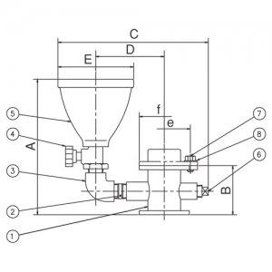 荏原製作所 MDPE 呼水用短管セット