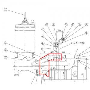 川本製作所 WUO4 連結直管