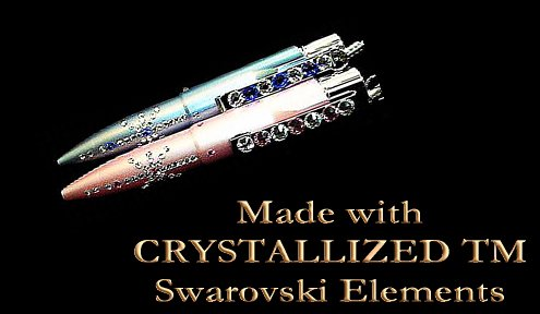 <img class='new_mark_img1' src='https://img.shop-pro.jp/img/new/icons29.gif' style='border:none;display:inline;margin:0px;padding:0px;width:auto;' />Made with CRYSTALLIZED -Swarovski Elements 社の唯一のネームペンの画像