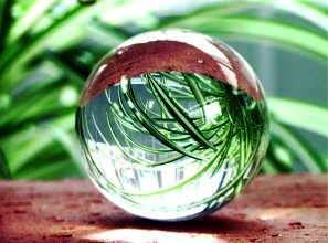 万能パワーの本水晶丸玉 (税込5250円以上送料無料)の画像