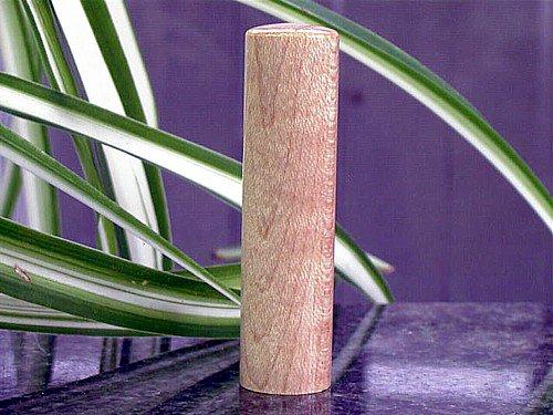 カーリー メイプル 高貴な気品の木の印鑑 鑑定書付属