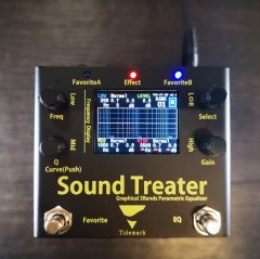 <img class='new_mark_img1' src='https://img.shop-pro.jp/img/new/icons5.gif' style='border:none;display:inline;margin:0px;padding:0px;width:auto;' />【Graphical 3Bands Parametric Equalizer】 Sound Treater