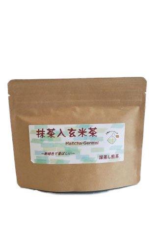 抹茶入玄米茶ティーバッグ2.5g×15個入