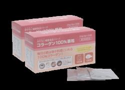 コラーゲン100%顆粒(分包品) 90g(3g×30包)×2個セット