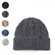 Hand Knit Cable Cap