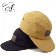COTTON SUEDE JET CAP