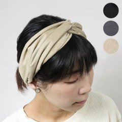 Fake Suede Cross Hairband