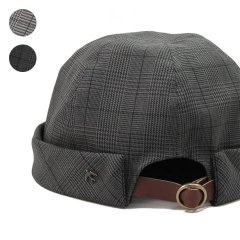 Glen Check Fishermans Cap
