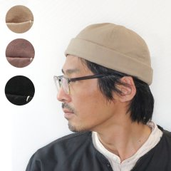 <img class='new_mark_img1' src='https://img.shop-pro.jp/img/new/icons8.gif' style='border:none;display:inline;margin:0px;padding:0px;width:auto;' />Linen Nep Cotton Canvas Fishermans Cap