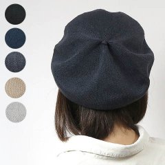 <img class='new_mark_img1' src='https://img.shop-pro.jp/img/new/icons8.gif' style='border:none;display:inline;margin:0px;padding:0px;width:auto;' />Dralon Knit Summer Tumami Beret