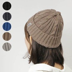 <img class='new_mark_img1' src='https://img.shop-pro.jp/img/new/icons8.gif' style='border:none;display:inline;margin:0px;padding:0px;width:auto;' />Linen Cotton Knit Cap Cable
