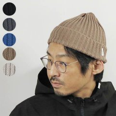 <img class='new_mark_img1' src='https://img.shop-pro.jp/img/new/icons8.gif' style='border:none;display:inline;margin:0px;padding:0px;width:auto;' />Linen Cotton Knit Cap Rib