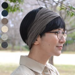 <img class='new_mark_img1' src='https://img.shop-pro.jp/img/new/icons8.gif' style='border:none;display:inline;margin:0px;padding:0px;width:auto;' />Organiccotton  Wide Turban