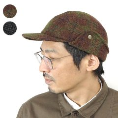 <img class='new_mark_img1' src='https://img.shop-pro.jp/img/new/icons8.gif' style='border:none;display:inline;margin:0px;padding:0px;width:auto;' />Wool Tweed Food Cap