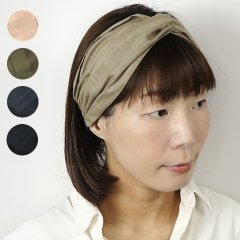 <img class='new_mark_img1' src='https://img.shop-pro.jp/img/new/icons8.gif' style='border:none;display:inline;margin:0px;padding:0px;width:auto;' />Cross Hairband (Dobby Check)