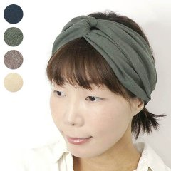 <img class='new_mark_img1' src='https://img.shop-pro.jp/img/new/icons8.gif' style='border:none;display:inline;margin:0px;padding:0px;width:auto;' />Cross Hairband (Ramie Slab)