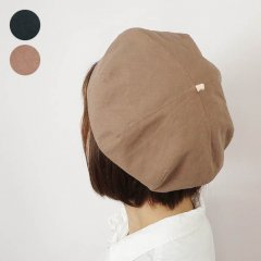 <img class='new_mark_img1' src='https://img.shop-pro.jp/img/new/icons8.gif' style='border:none;display:inline;margin:0px;padding:0px;width:auto;' />Linen Cotton Beret