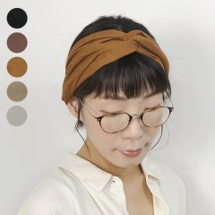 <img class='new_mark_img1' src='https://img.shop-pro.jp/img/new/icons8.gif' style='border:none;display:inline;margin:0px;padding:0px;width:auto;' />Size Freed Cross Hairband (Cotton)