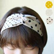 <img class='new_mark_img1' src='https://img.shop-pro.jp/img/new/icons47.gif' style='border:none;display:inline;margin:0px;padding:0px;width:auto;' />Dot Cross Hairband