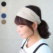 Cotton Linen Hairband