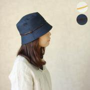 LEATHER BELT LINEN HAT